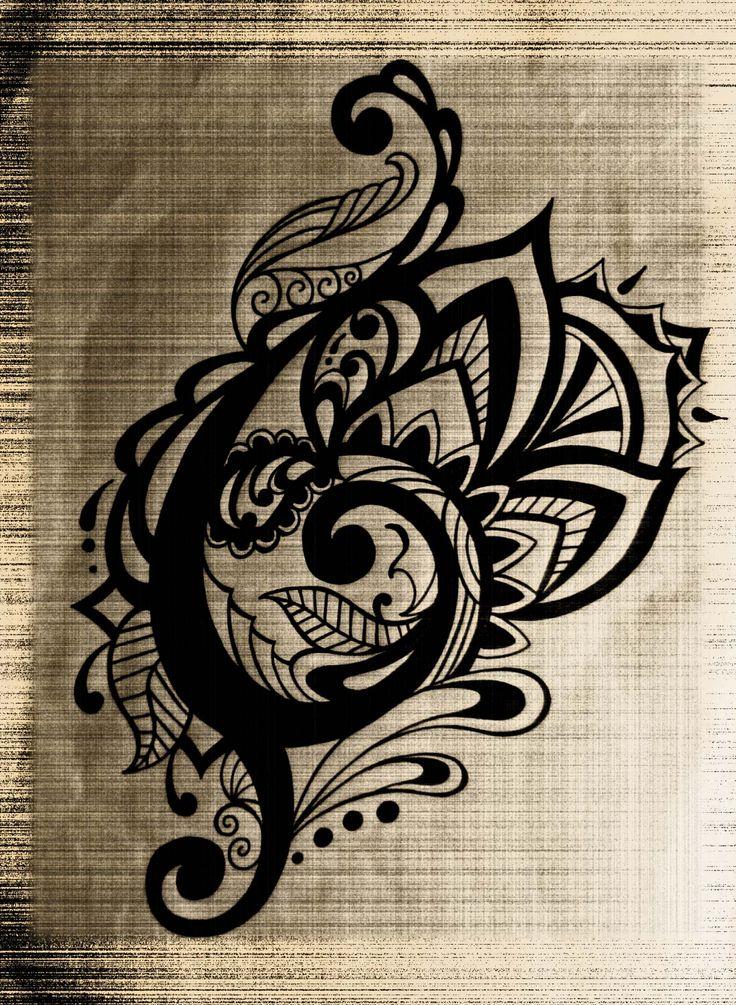 トライバル タトゥー デザイン tribal tattoo design