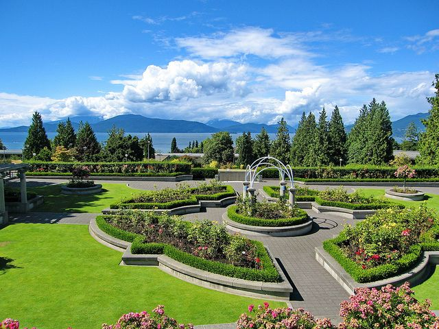 University of British Columbia Botanical Garden, Vancouver, BC, Canada.