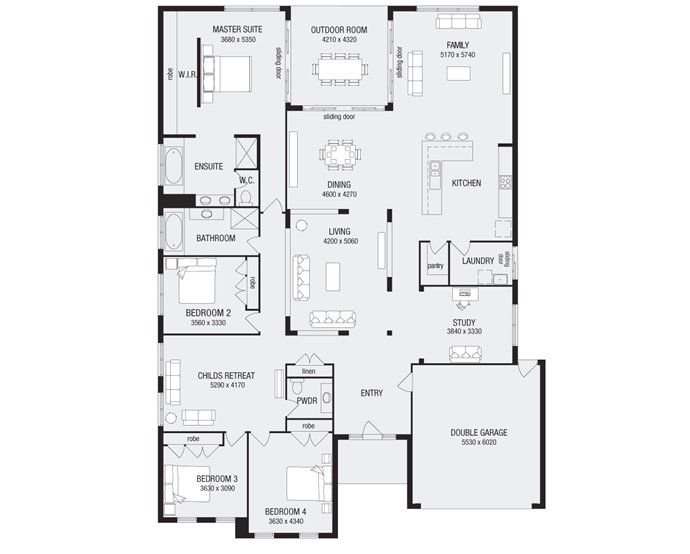 The aldephi by metricon homes...