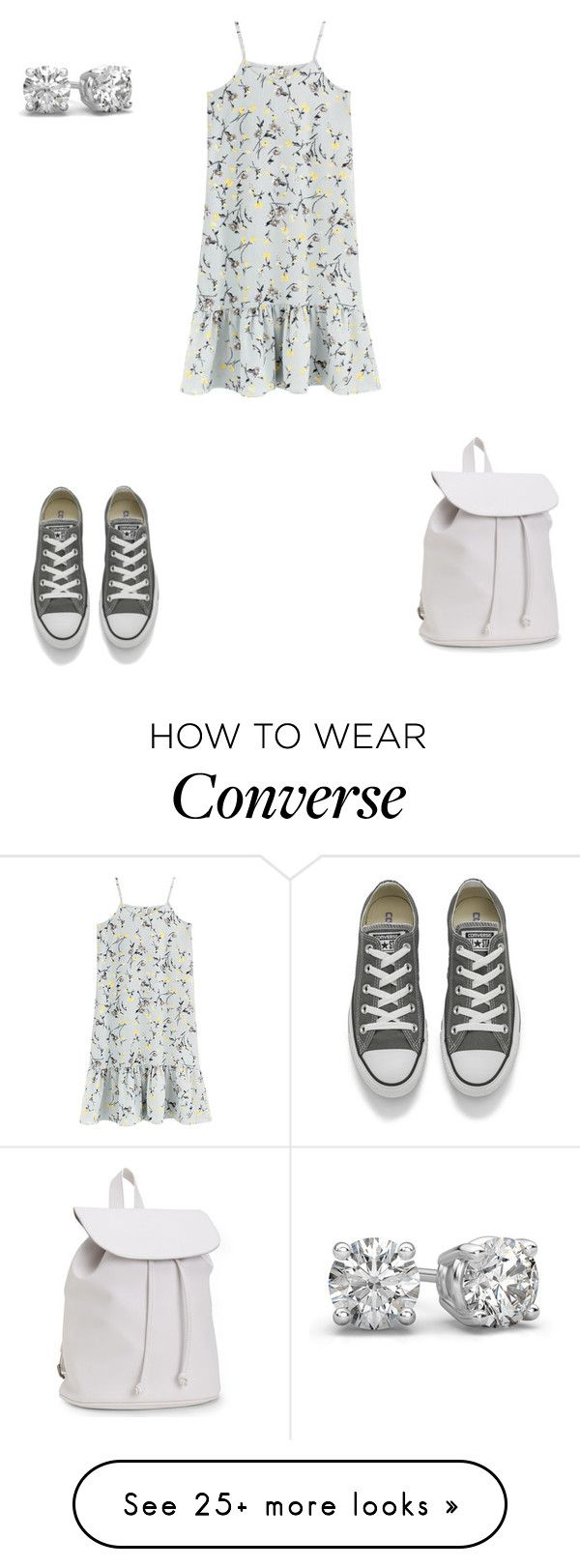 """Untitled #155"" by silentpoetgeek on Polyvore featuring Converse and Aéropostale"