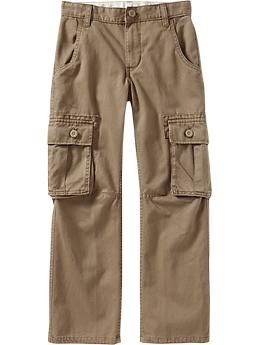 Boys Authentic Cargos #2-First week of school.