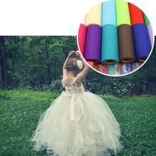 22 M X 15 cm Kleurrijke 15 Kleuren Organza Sheer Gaas Element Tafelloper Tissue Tulle Roll Spool Craft Party bruiloft Decoratie 9z(China (Mainland))