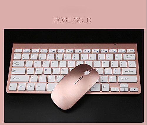 Keyboard & Mouse Combos, Ergonomic Wireless 2.4G Ultra