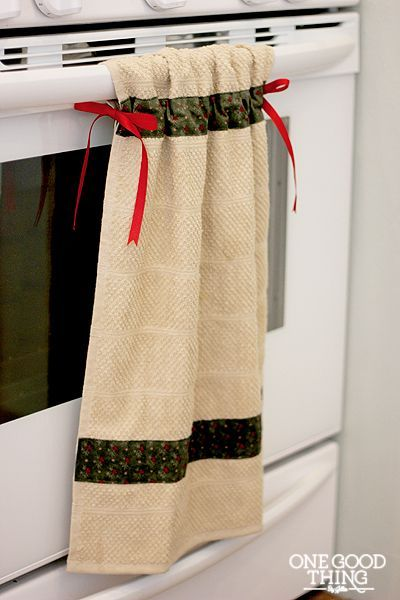 1000 images about pano de copa on pinterest potholders towels and dish towels - Hanging kitchen towel tutorial ...