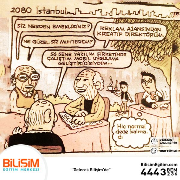 2080 Yılında Dedeler! #bilişimegitim #bilişimeğitimmerkezi #onlineeğitim #uzaktancanlıeğitim #mizah #bilisimmizah