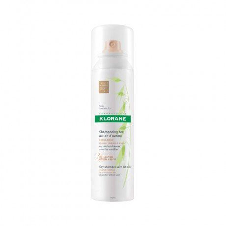 Klorane Dry Shampoo with Oat Milk, Natural Tint, $20; birchbox.com - Photo: Courtesy of Birchbox