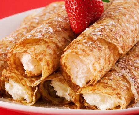 Ricetta Crepes con crema soffice di banane