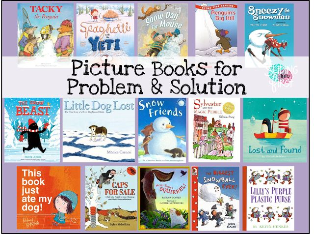 Sliding into First!: Shared Reading: Fiction Story Elements, first grade, 1st grade reading, problem solution, picture books, books for problem and solution, winter books, fiction