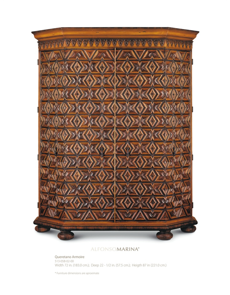 queretano armoire by alfonso marina ebanista. Black Bedroom Furniture Sets. Home Design Ideas