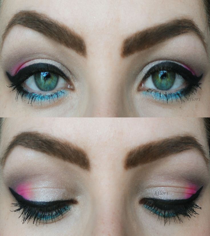 today's make up #makeup #style #beauty #pink  #blue #candy