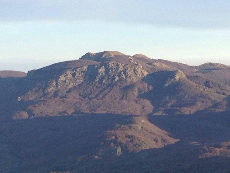 Monte MAGGIORASCA visto dal Penna