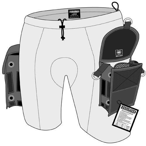 XL Highland by XS Scuba 2mm Super Stretch Neoprene Shorts