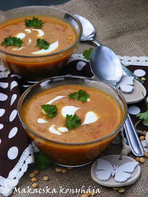 Makacska konyhája: Currys sárgaborsó leves