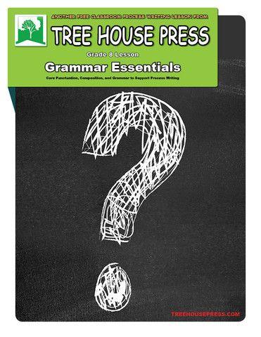 Free grade 8 essential grammar lessons.