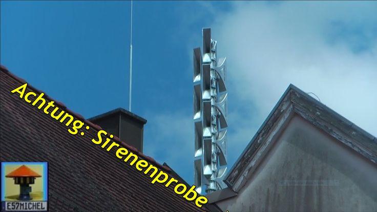"""KAT ALARM in #Sankt #Ingbert   Keine Bange nur Probealarm  #Saarland #Heute mal was Lautes aus dem Saarland: Brandneue installierte elektronische Hochleistungs-Sirene des Typs SES2400 (Sonnenburg) aufgenommen beim regelmaessigen Probealarm. Abwechselnd wird das Signal """"Warnung"""" bzw. """"Alarmierung der Feuerwehr"""" #alle 4 Wochen gestestet. Darueber hinaus ist diese besondere Sirene mit 2400 Watt Gesamtleistung auch #fuer Sprachdurchsagen ausgelegt: Bei akuter Gefahr http://saar.c"""