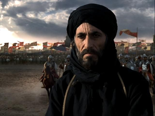 The catalyst was the emergence of charismatic figure who could   articulate a coherent vision of unity and deliver results on the   battlefield: Saladin. Description from peterfrankopan.com. I searched for this on bing.com/images