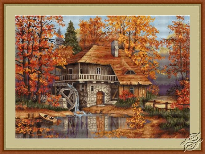 Autumn Landscape - Cross Stitch Kits by Luca-S - B481