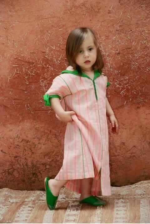 Jellaba enfant fille
