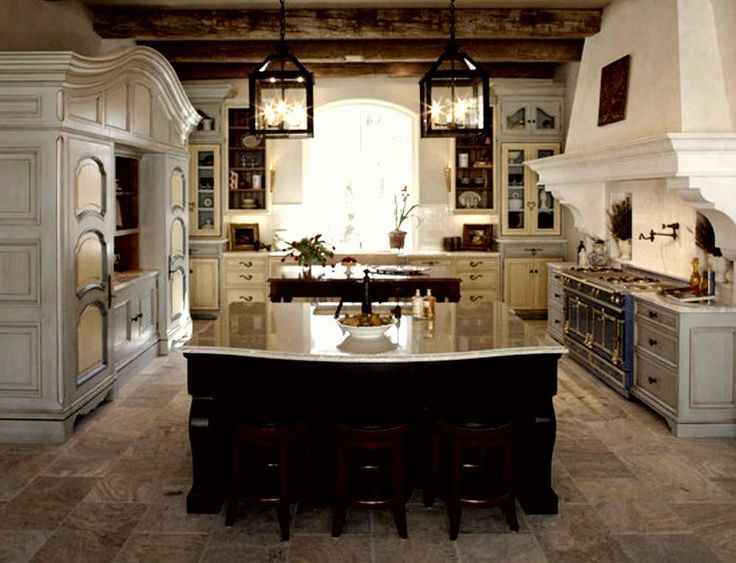 rustic kitchen unique | Kitchen in a French Rustic - Style | How to Build a House
