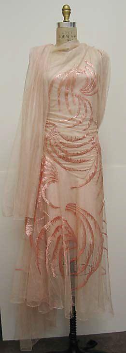 Dress, Evening  Madeleine Vionnet