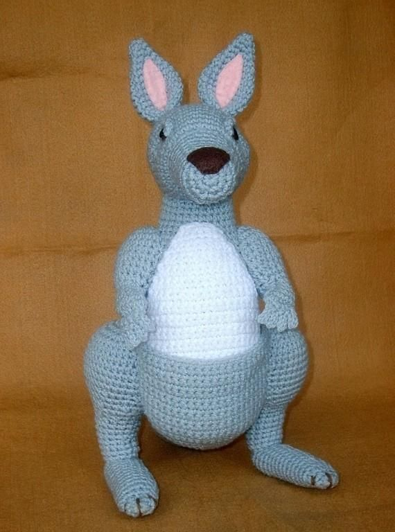 Crocheting: Kangaroo Crochet Plush Doll