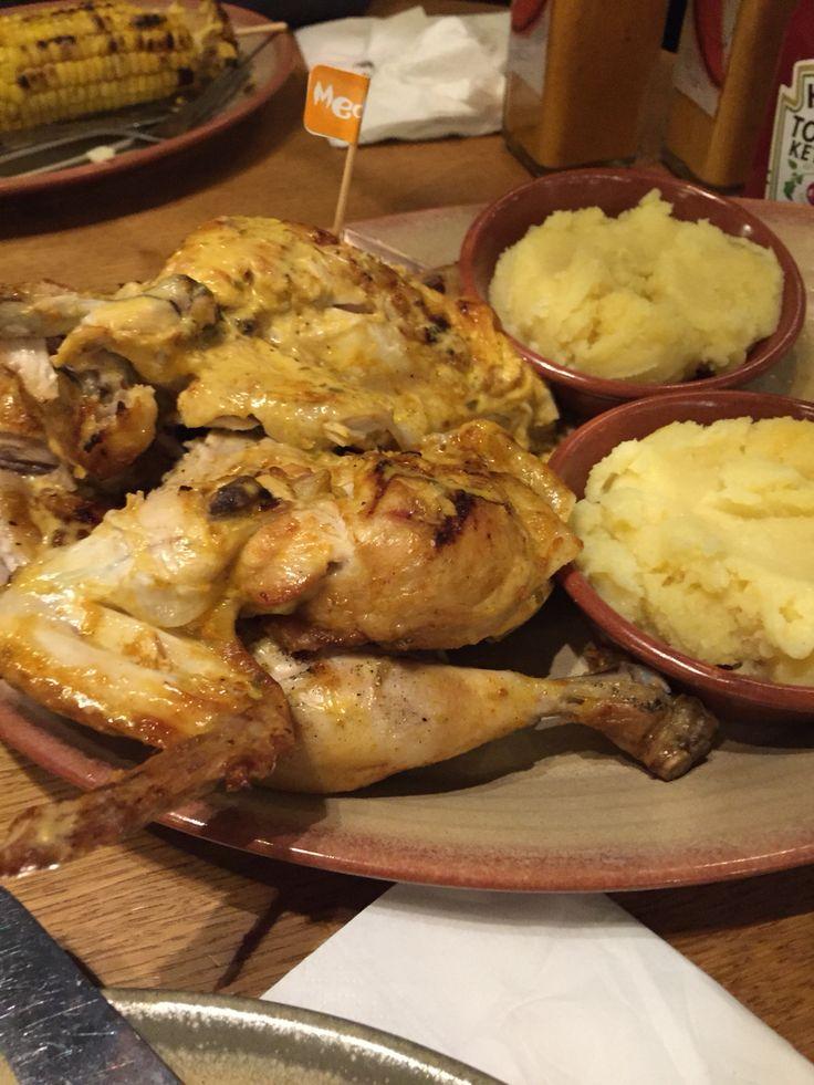 Juicy and succulent Nando's chicken