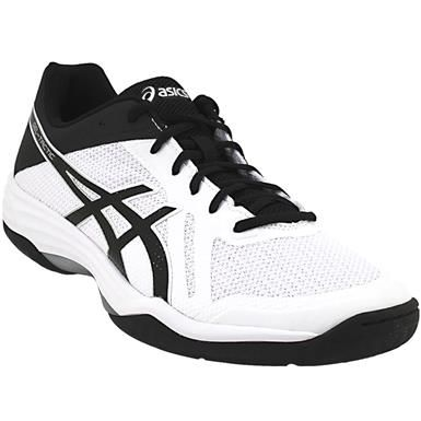 Asics Gel Tactic 2 Volleyball Shoes - Mens White Black Silver