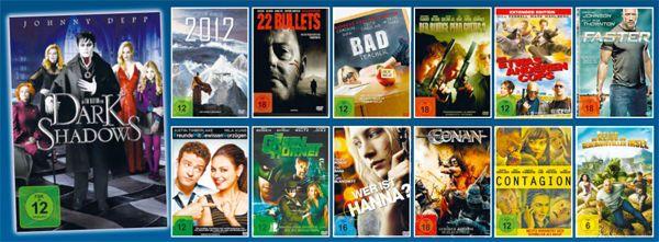 "25  DVD FILME     ""OVP/NEU""    TOP ANGEBOT"