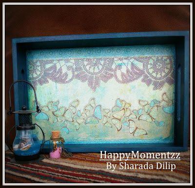 HappyMomentzz crafting by Sharada Dilip: decoupage