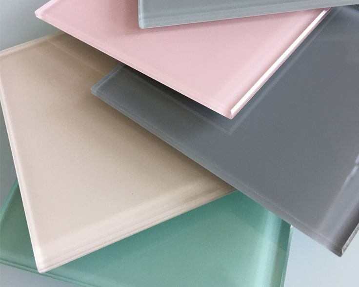 Back painted glass - available in 9 standard colors. Backpainted glass is ideal for backsplashes, tabletops, countertops, shelving etc. All backpainted glass is tempered and utilizes low-iron Starphire® glass for color clarity. Available in standard gloss and matte (acid etch) finishes,