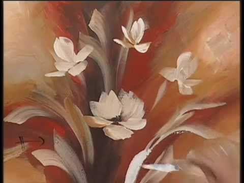 ▶ MONITOR | Gabriela Mensaque pinta con Lautrec flores con esponja | Manos a la Obra - YouTube