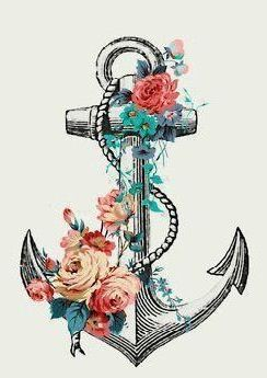"""Beautiful anchor to go with the lyrics, """"We all carry these things inside that no one else can see. They hold us down like anchors. They drown us out at sea. I look up to the sky; there may be nothing there to see. But if I don't believe in Him, why would he believe in me?"""""""