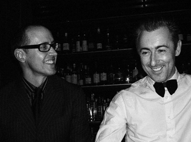 Alan Cumming and Grant Shaffer Five years after they became civil partners in London, the Good Wife actor and the commercial illustrator tied the knot at the Soho Grant Hotel in New York City Jan. 7.   Read more: http://www.usmagazine.com/celebrity-news/pictures/celebrity-weddings-2012-20122411/26357#ixzz2m2BmW7J5  Follow us: @Us Weekly on Twitter | usweekly on Facebook