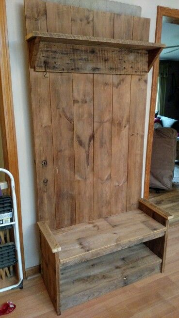 Barn Door Hall Tree Barn Wood Projects Old Barn Doors