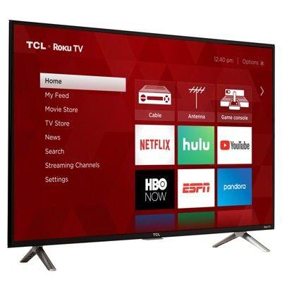 Tcl 32 Roku 4K Uhd Hdr Smart TV (32S425), Black | Products