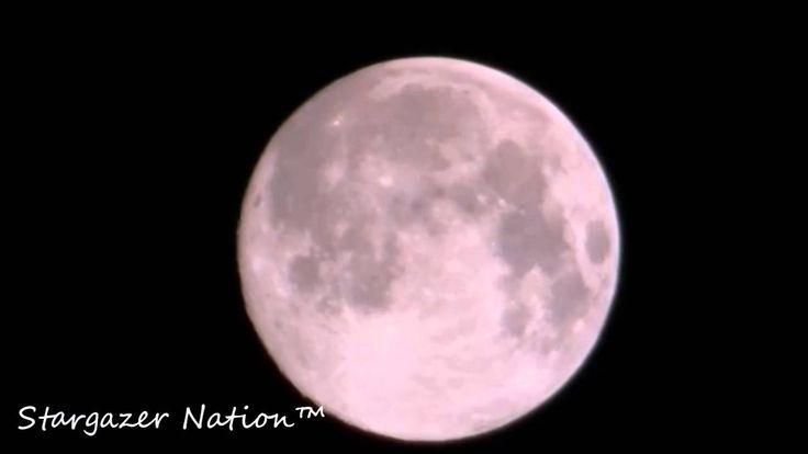 Perigee Moon, Supermoon of August 10th 2014 - Super Moon! - Lunar Phenom...