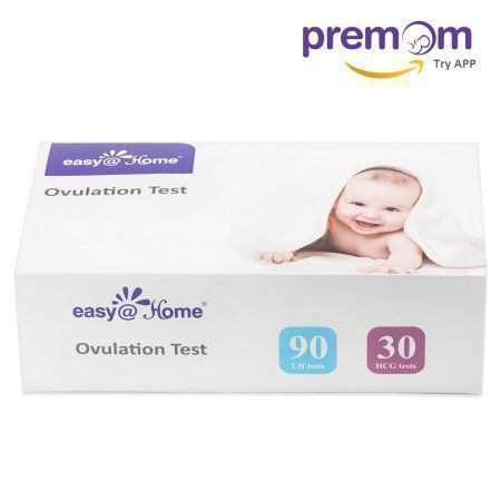 Easy@Home 90 Ovulation Tests (LH tests) and 30 Pregnancy Test (HCG tests) Combo Urine Test Strips Kit - the reliable Ovulation Predictor Kits, 90 LH + 30 HCG Tests #pregnancyteststrips, #pregnancyandovulationtest