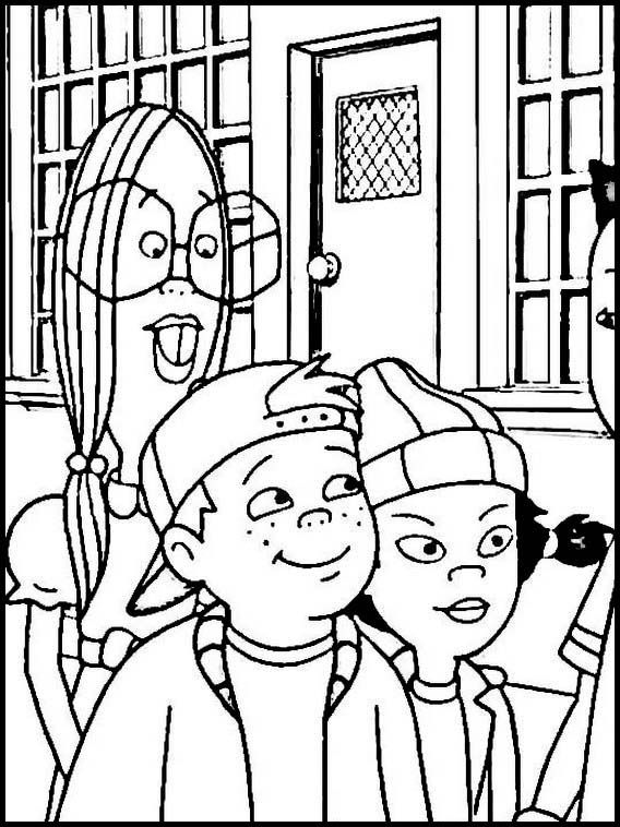Recess 14 Printable Coloring Pages For Kids Cartoon Coloring Pages Online Coloring Pages Coloring Pages For Kids