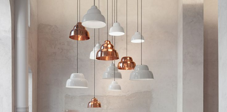 Levels lamps by Form Us With Love