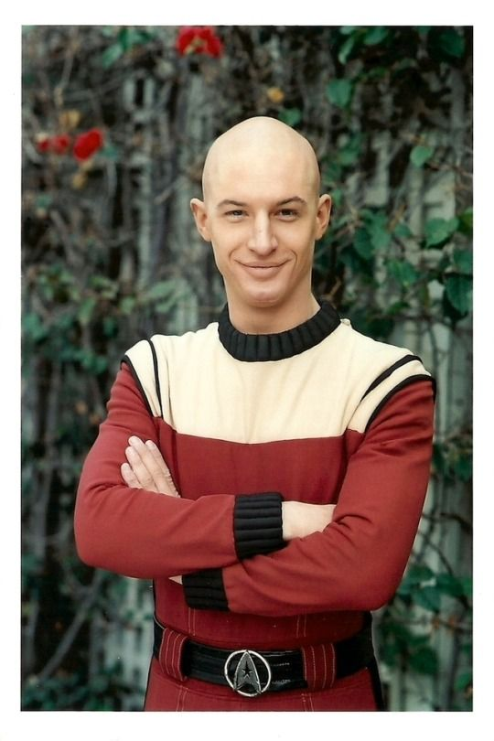 Star Trek Nemesis 2002 Background prop photos of Tom Hardy as a young Jean-Luc Picard. https://trekcore.tumblr.com/post/165528713514/background-prop-photos-of-tom-hardy-as-a-young #tomhardy #startreknemesis