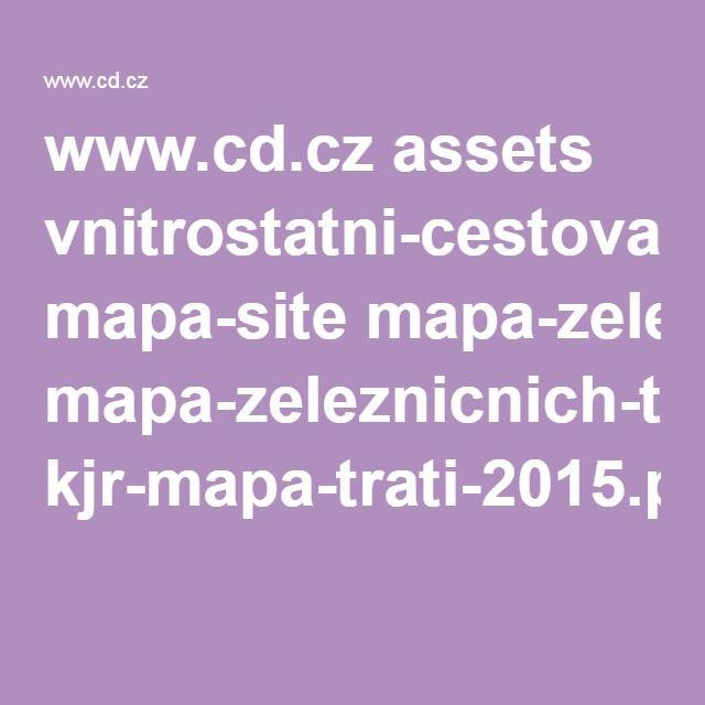 www.cd.cz assets vnitrostatni-cestovani mapa-site mapa-zeleznicnich-trati kjr-mapa-trati-2015.pdf