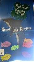 4-H club banner made from felt. It's a way to promote 4-H at the club, county…