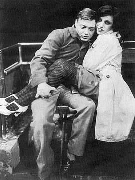 Peter Lorre & Lotte Lenya in Spring Awakening.
