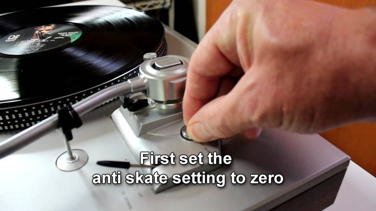 Howto balance a tonearm.  Correct stylus tracking force is critical.