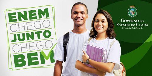 Governo do Estado do Ceará: Simulado Seduc Geekie Enem começa neste sábado