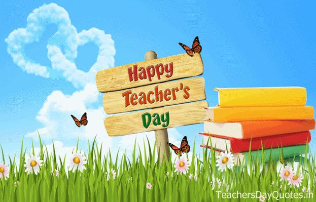 You are not only our teacher You are our friend, philosopher and guide All molded into one person We will always be grateful for your support Happy Teachers Day!