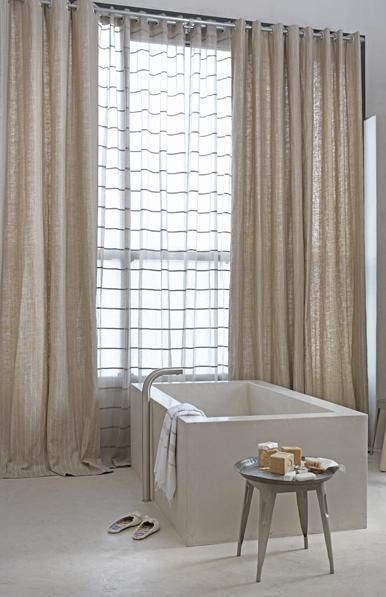 Neutral Sheer Curtains