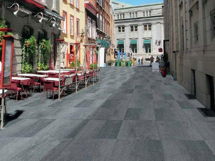 Pavimentazione esterna in calcestruzzo - PIASTRE - M.v.b.