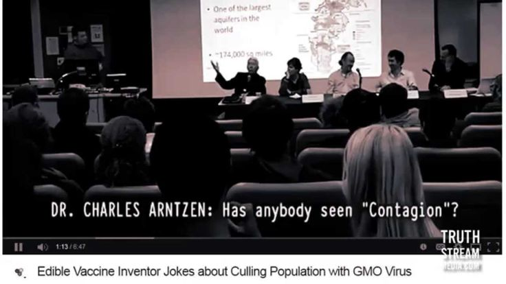 Scientist Working on Gov't Ebola Drug Joked About Culling Population with GMO Virus