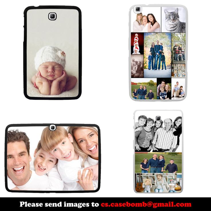 Personalised Gift Tablet Case Cover for Samsung Galaxy Tab 3 & 4, 7 8 10 Inch